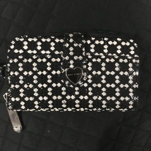 Betsey Johnson Phone Wallet Wristlet